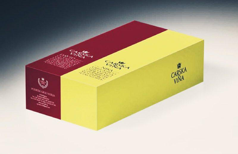 Poklon paket 1/1 boca Carska Blatina 0,75l