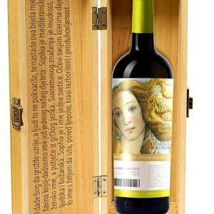 Poklon paket 1/1 Carska vina Sophia cuvee, 0,75 l( 1 boca)